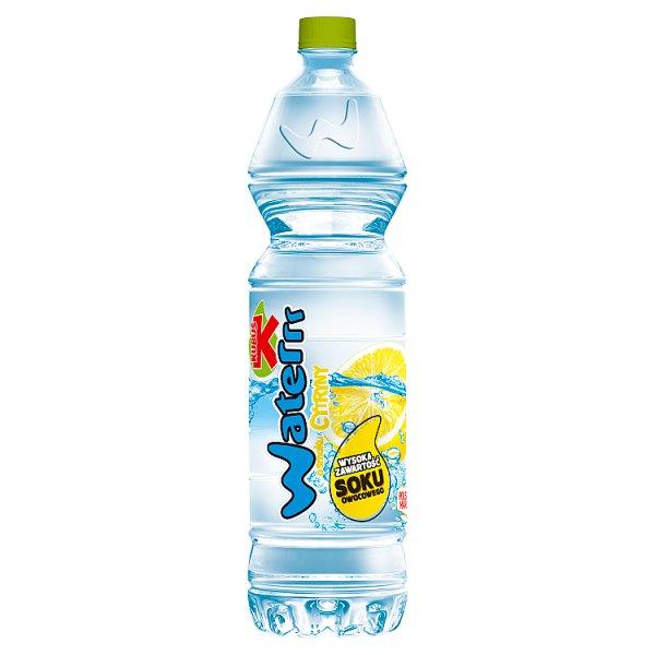 Kubuś Waterrr Napój o smaku cytryny 1,5 l