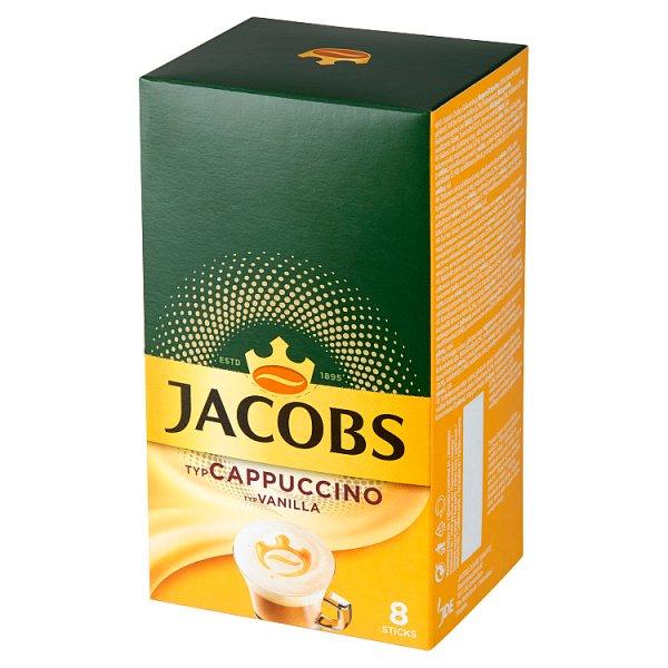 Jacobs Cappuccino Vanilla Rozpuszczalny napój kawowy 120 g (8 x 15 g)
