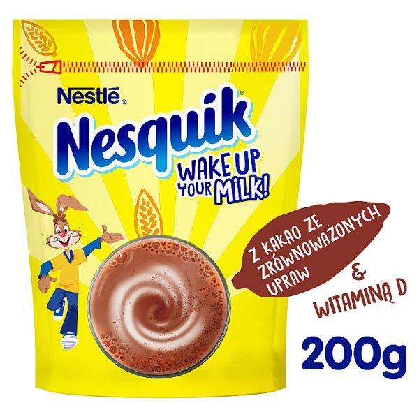 Nesquik Rozpuszczalny napój kakaowy z dodatkiem witamin 200 g
