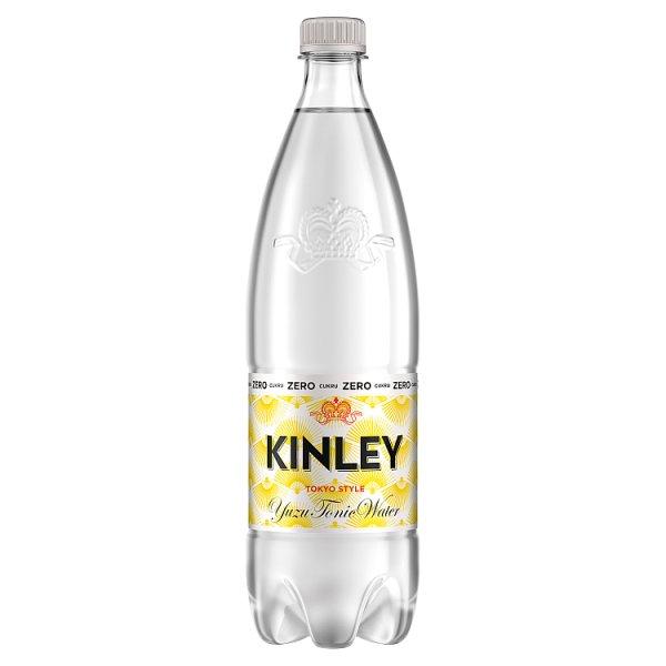 Kinley Yuzu Tonic Water Napój gazowany 1 l