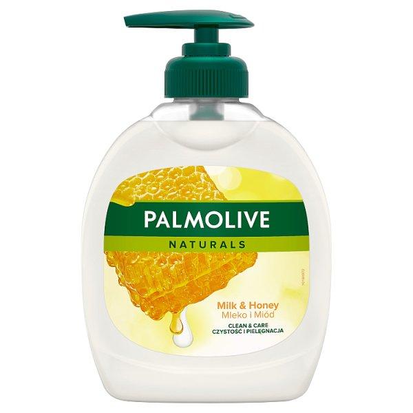 Palmolive Naturals Milk & Honey (Mleko i Miód) Kremowe mydło w płynie z dozownikiem 300 ml
