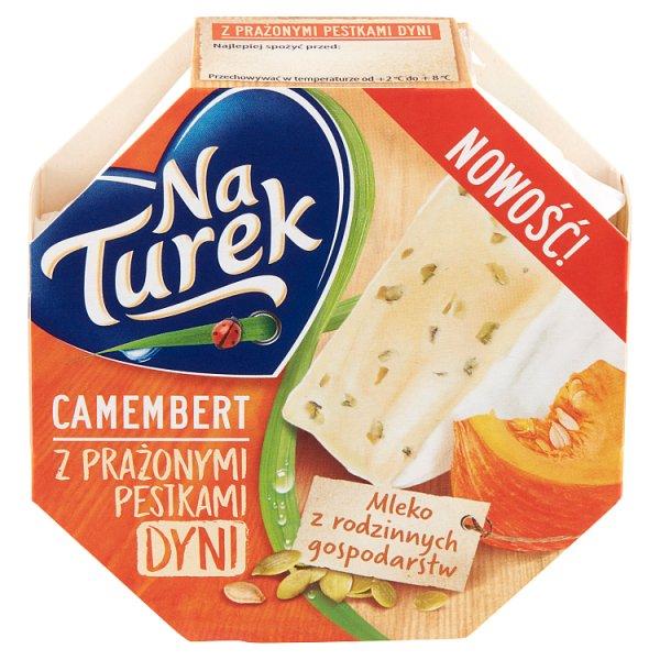 NaTurek Camembert z prażonymi pestkami dyni 120 g