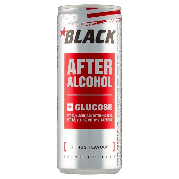 Black Energy After Alcohol Gazowany napój energetyzujący o smaku cytrusowym 250 ml
