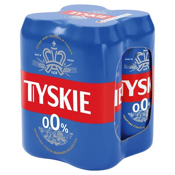 Tyskie Piwo bezalkoholowe 4 x 0,5 l