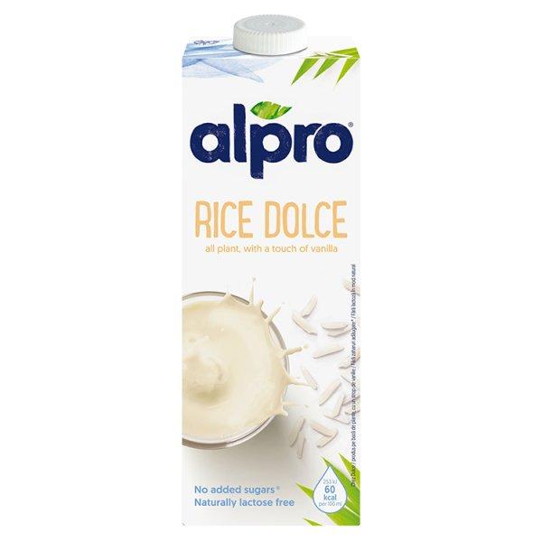 Alpro Napój ryżowy dolce o smaku waniliowym 1 l