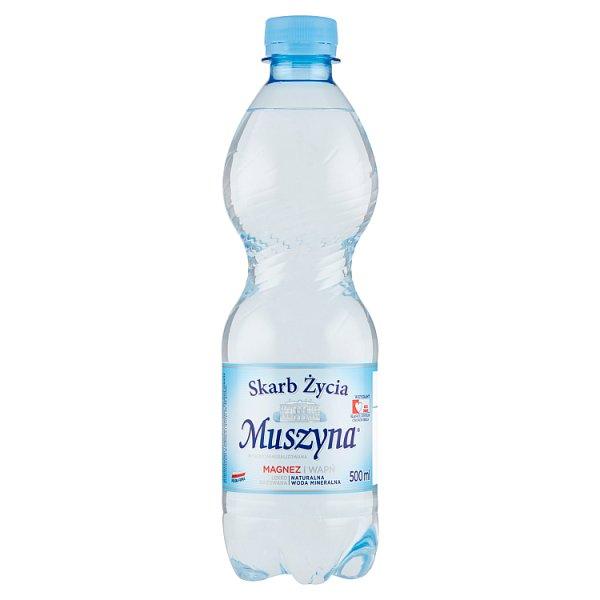 Muszyna Skarb Życia Naturalna woda mineralna wysokozmineralizowana lekko gazowana 500 ml