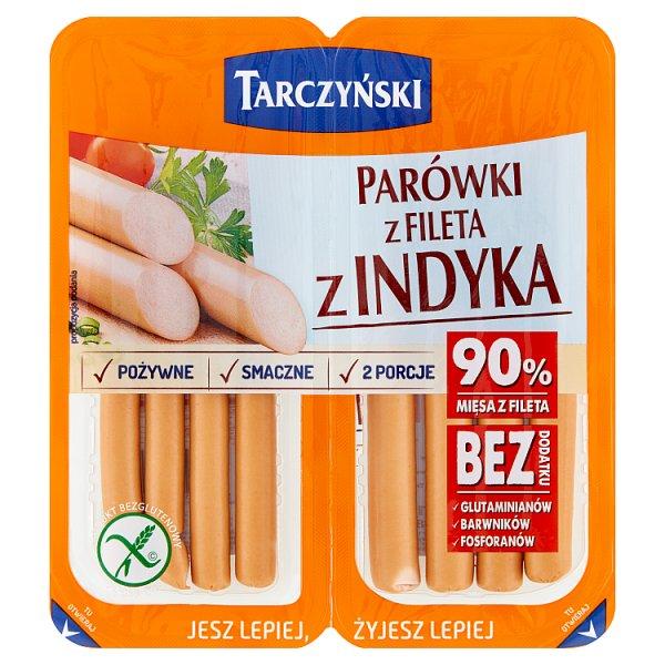 Tarczyński Parówki z fileta z indyka 160 g (2 x 80 g)