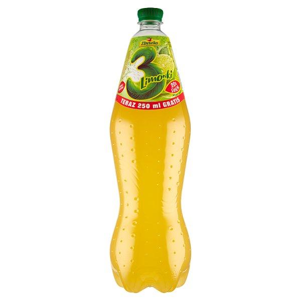 Zbyszko 3 Limonki Napój gazowany 1,75 l