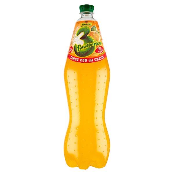 Zbyszko 3 Pomarańcze Napój gazowany 1,75 l