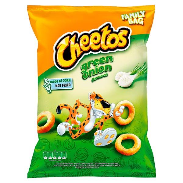 Cheetos Chrupki kukurydziane o smaku zielonej cebulki 130 g