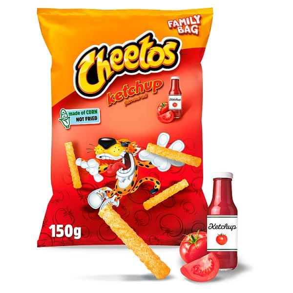 Cheetos Chrupki kukurydziane o smaku ketchupowym 150 g