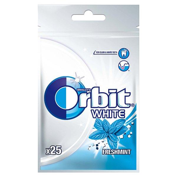 Orbit White Freshmint Guma do żucia bez cukru 35 g (25 drażetek)