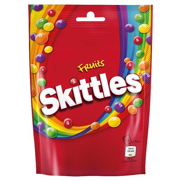 Skittles Fruits Cukierki do żucia 174 g (142 cukierki)