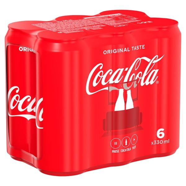 Coca-Cola Napój gazowany 6 x 330 ml