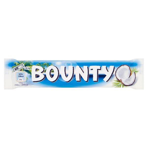 Bounty Baton z nadzieniem kokosowym oblany czekoladą 57 g (2 sztuki)