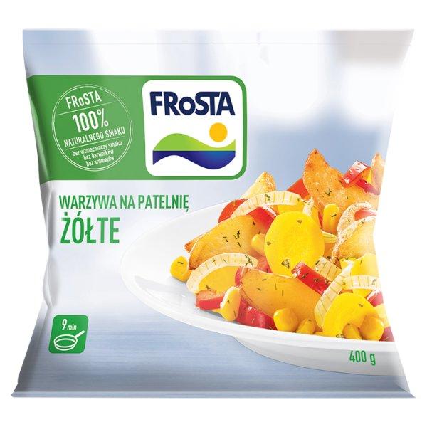 FRoSTA Warzywa na patelnię żółte 400 g
