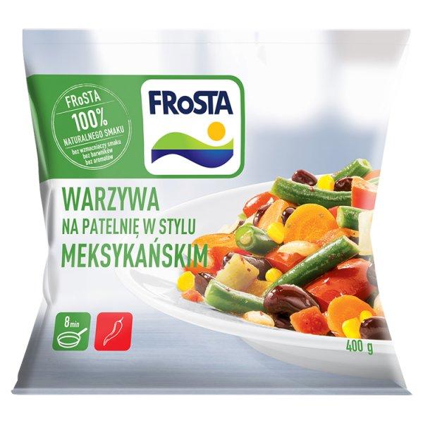 FRoSTA Warzywa na patelnię w stylu meksykańskim 400 g