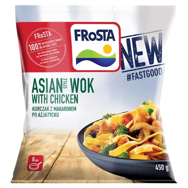 FRoSTA Asian Style Wok with Chicken Kurczak z makaronem po azjatycku 450 g