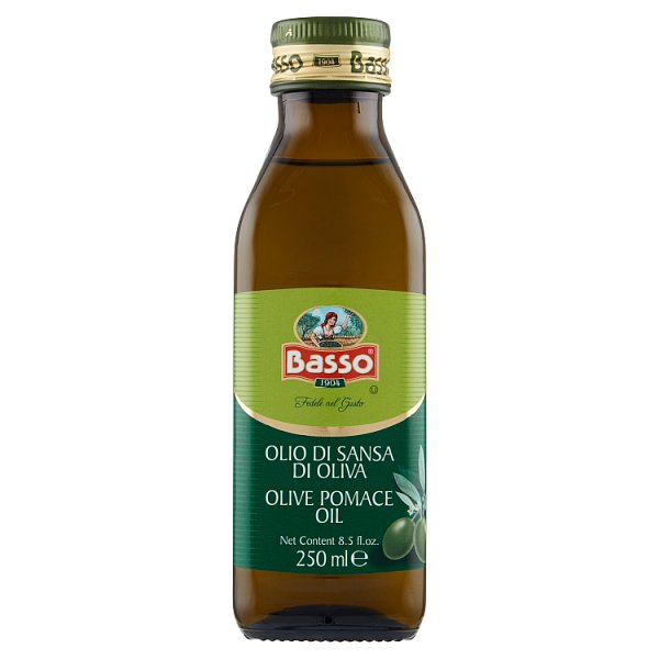Basso Oliwa z wytłoczyn z oliwek 250 ml