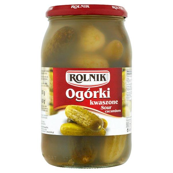 Rolnik Ogórki kwaszone 850 g