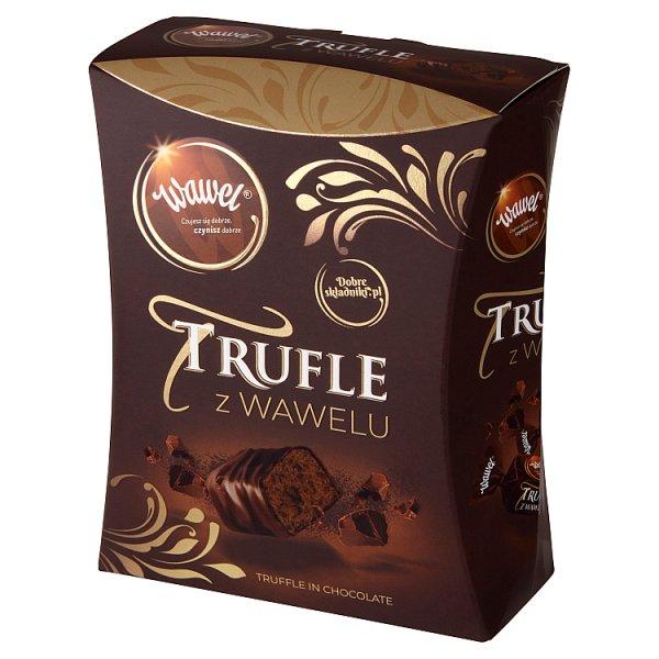 Wawel Trufle z Wawelu Cukierki o smaku rumowym w czekoladzie 250 g