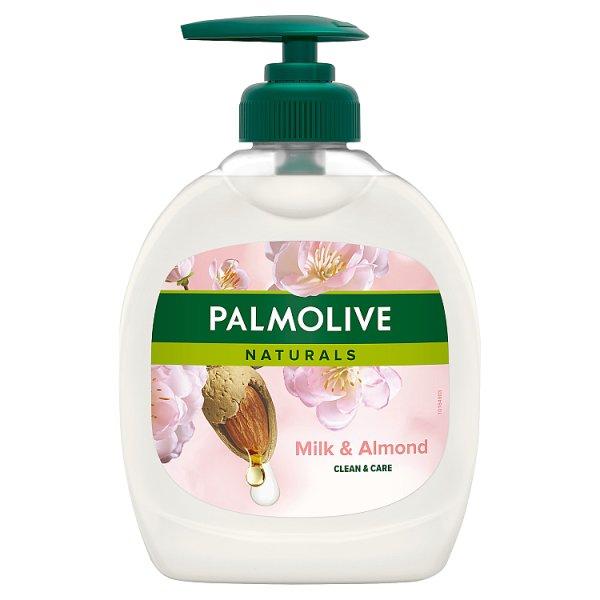 Palmolive Naturals Milk & Almond (Mleko i Migdał) Kremowe mydło w płynie do rąk z dozownikiem 300 ml