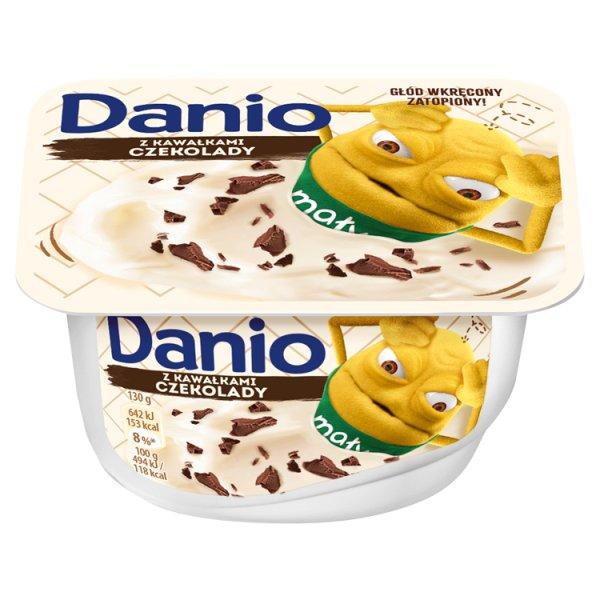 Danio Serek homogenizowany z czekoladą 130 g