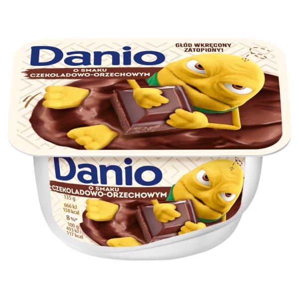 Danio Serek homogenizowany o smaku czekoladowo-orzechowym 135 g