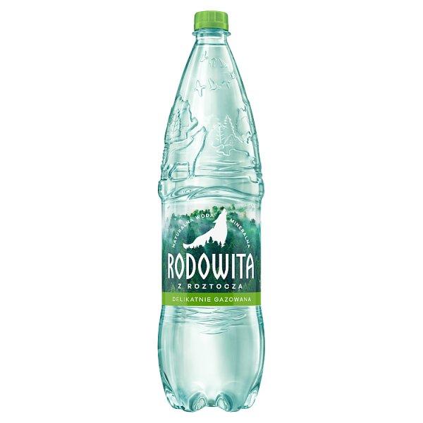 Rodowita z Roztocza Naturalna woda mineralna delikatnie gazowana 1,5 l