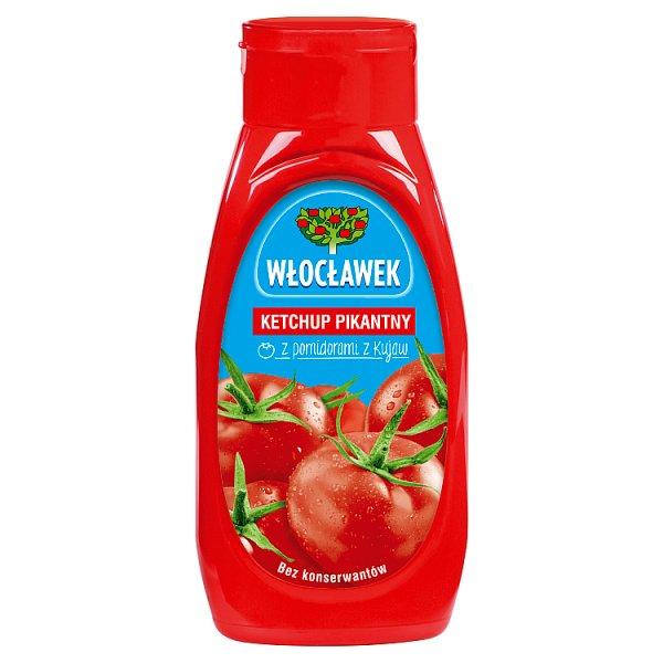 Włocławek Ketchup pikantny 480 g