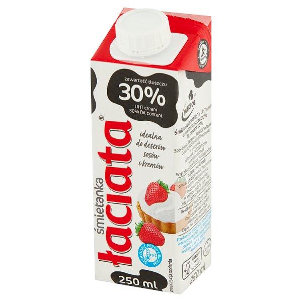 Łaciata Śmietanka 30% 250 ml