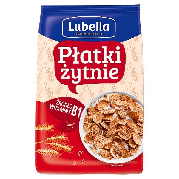 Lubella Płatki żytnie 500 g