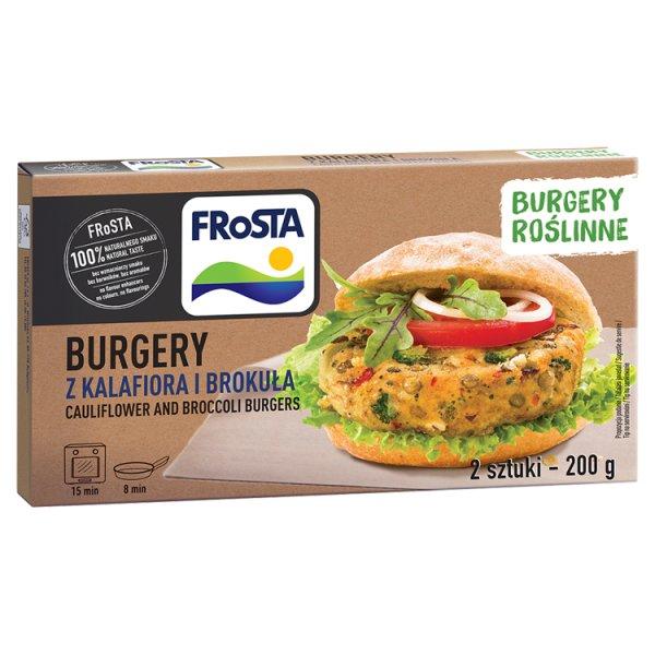 FRoSTA Burgery z kalafiora i brokuła 200 g (2 sztuki)