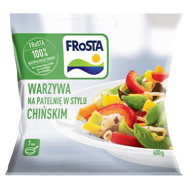 FRoSTA Warzywa na patelnię w stylu chińskim 400 g