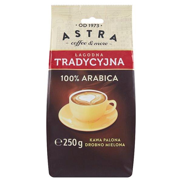 Astra Kawa palona drobno mielona łagodna tradycyjna 250 g