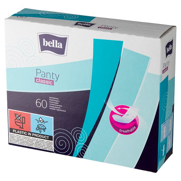 Bella Panty Classic Wkładki higieniczne 60 sztuk
