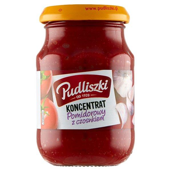 Pudliszki Koncentrat pomidorowy z czosnkiem 200 g