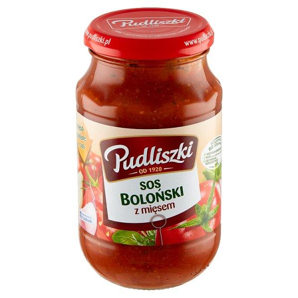 Pudliszki Sos boloński z mięsem 450 g
