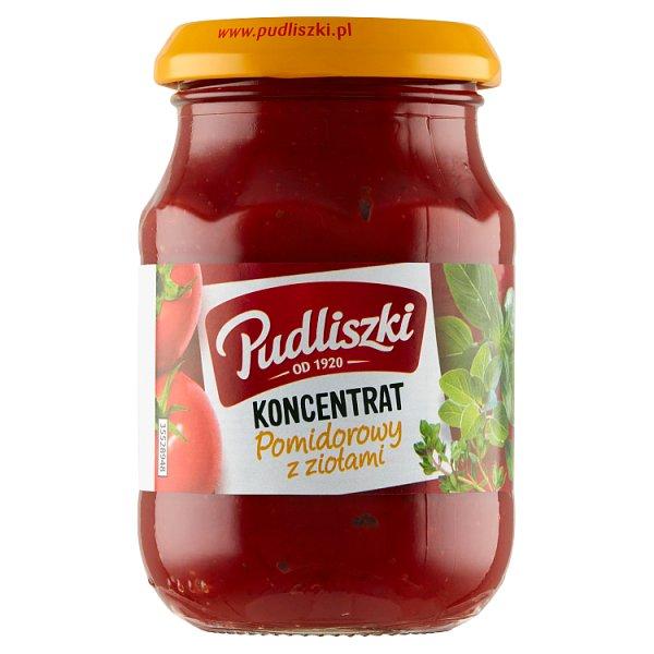 Pudliszki Koncentrat pomidorowy z ziołami 200 g
