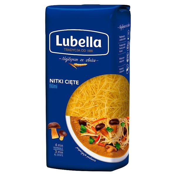 Lubella Makaron nitki cięte 500 g