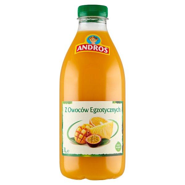 Andros Produkt do picia z owoców egzotycznych 1 l