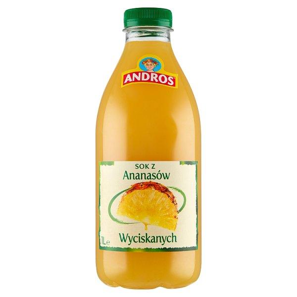 Andros Sok z ananasów wyciskanych 1 l