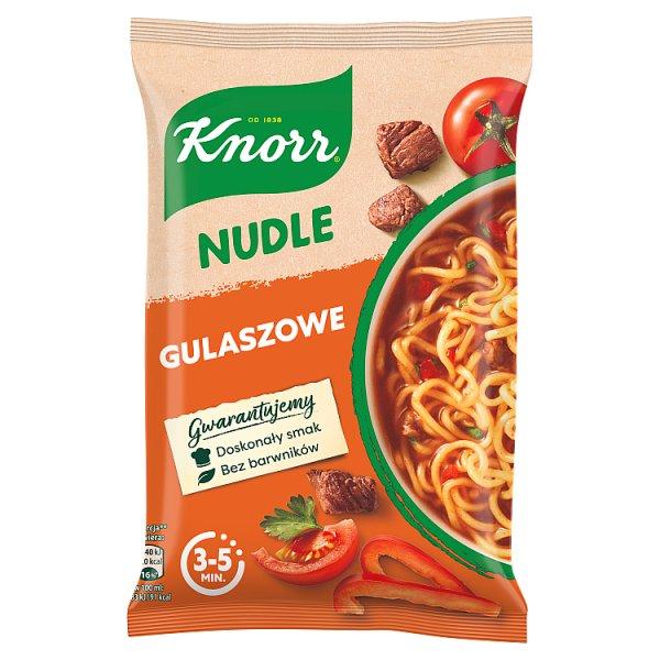 Knorr Nudle Zupa-danie gulaszowe 64 g