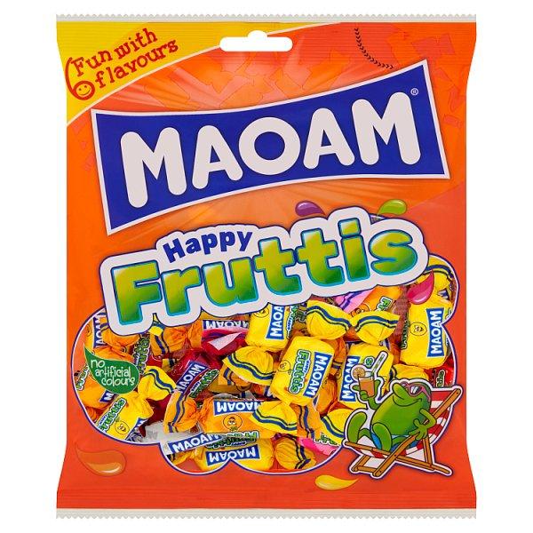 Maoam Happy Fruttis Guma rozpuszczalna 175 g