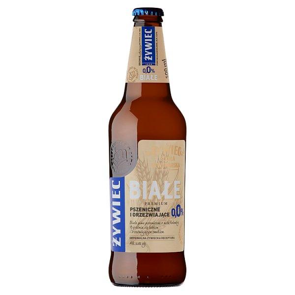 Żywiec Premium Białe Piwo pszeniczne bezalkoholowe 500 ml