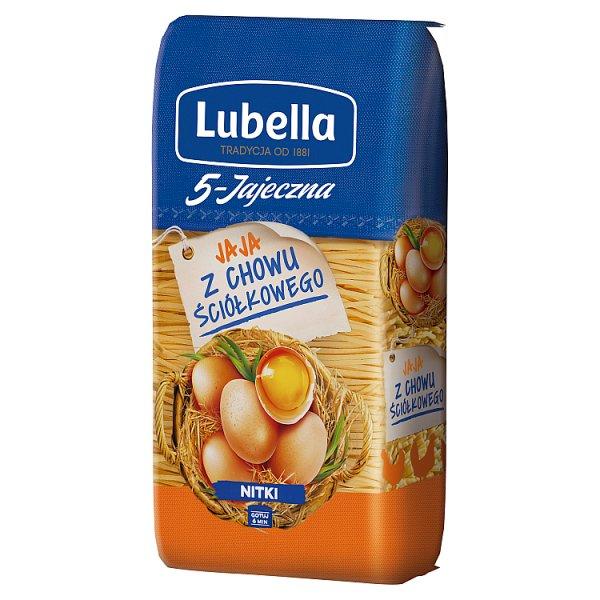 Lubella 5-Jajeczna Makaron nitki 250 g