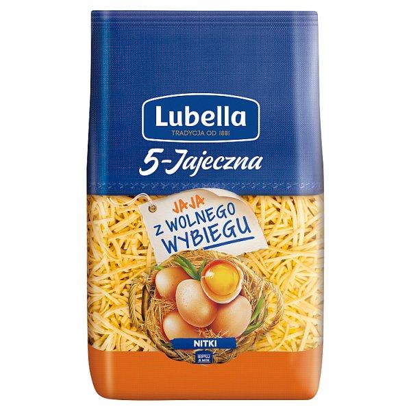 Lubella 5-Jajeczna Makaron nitki 400 g