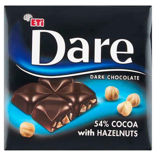 Eti Dare Czekolada gorzka 54% kakao z orzechami laskowymi 70 g