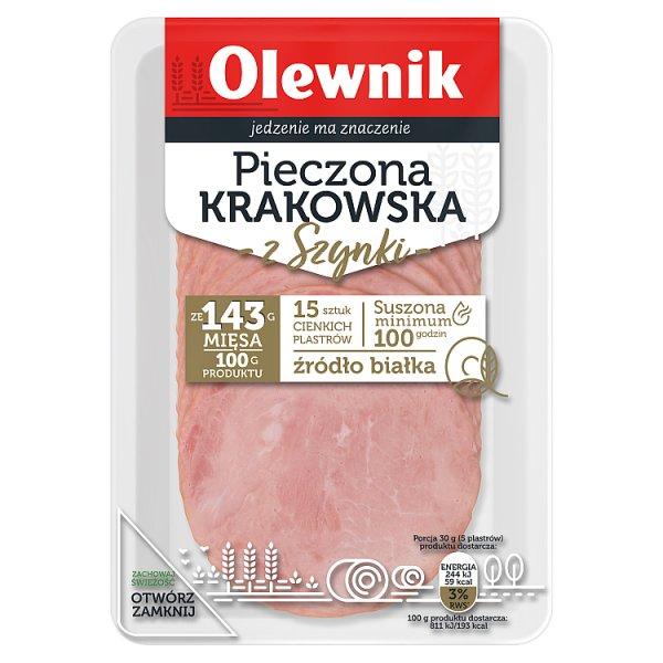 Olewnik Pieczona krakowska z szynki 90 g