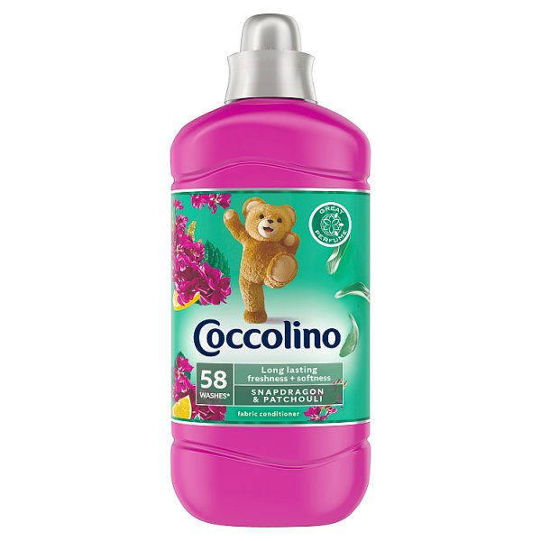 Coccolino Snapdragon & Patchouli Płyn do płukania tkanin koncentrat 1450 ml (58 prań)